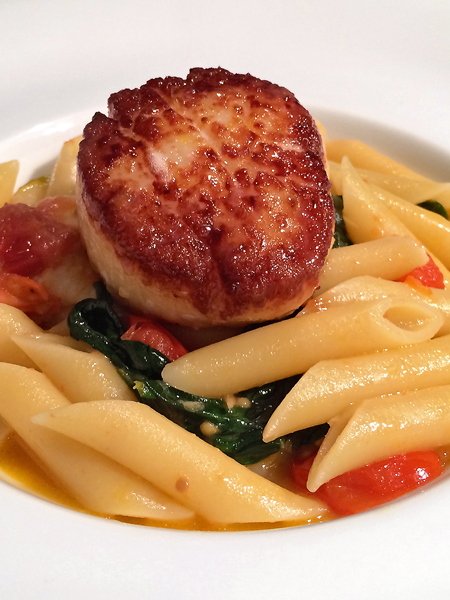 Seared Scallop Pasta
