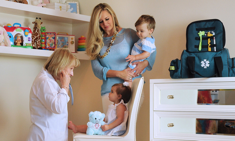 Exceptional pediatric urgent care in the comfort and safety of your home    Request a Visit
