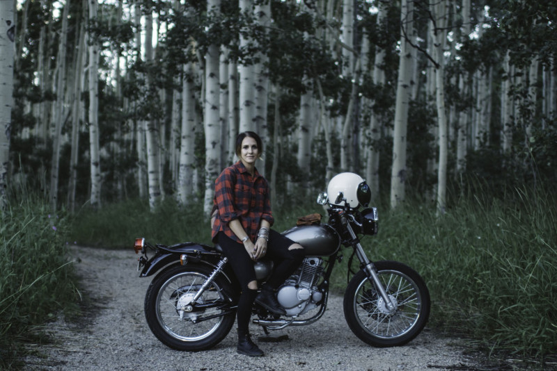 Molly Pacitti: A group of women riders who just want to ride together and share adventures together. It's really fun. I just moved to Salt Lake City, so The Litas have really helped me meet friends who want to go explore Utah together on motorcycles.
