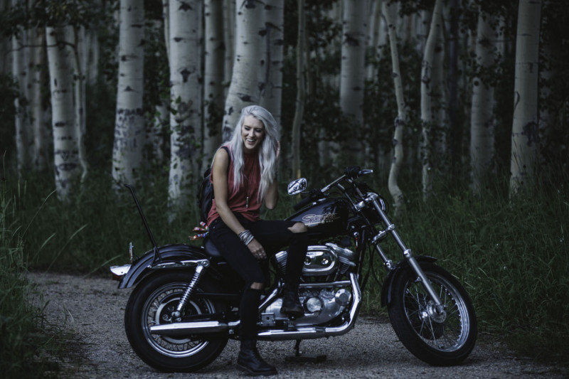 Skye Larcade:   We're a group of women riders trying to break out of that shell that this is only a men's sport. It's a women's world too. The Litas is a group of bad ass chicks doing our thing, ya know? It's empowering riding with a group of ladies who are like minded and dig the same things you do. The positive energy with everyone about that braaaap, I love it. I hope that we're an inspiration to other girls. Too many girls hate on each other and we are a good example that it doesn't have to be like that.