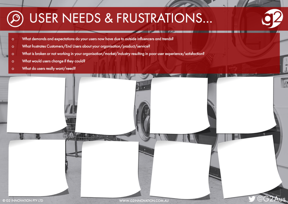 User Needs and Frustrations
