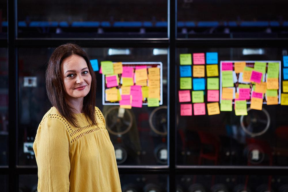 Kate O'Halleran - Project Manager, Human-centered Design