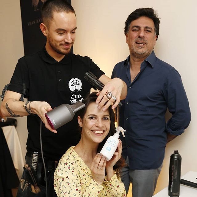 @birthe_wolter loves our Blow Dry Spray and had a great day with @shanrahimkhangermany at the Gala Spa Awards ❤  #haircare #galaspaawards #galaloves #getreadywithshanrahimkhan #stylinglounge #badenbaden #brennershotel #beautiful #beautifulhair #beautifulmakeup  @gala_magazin