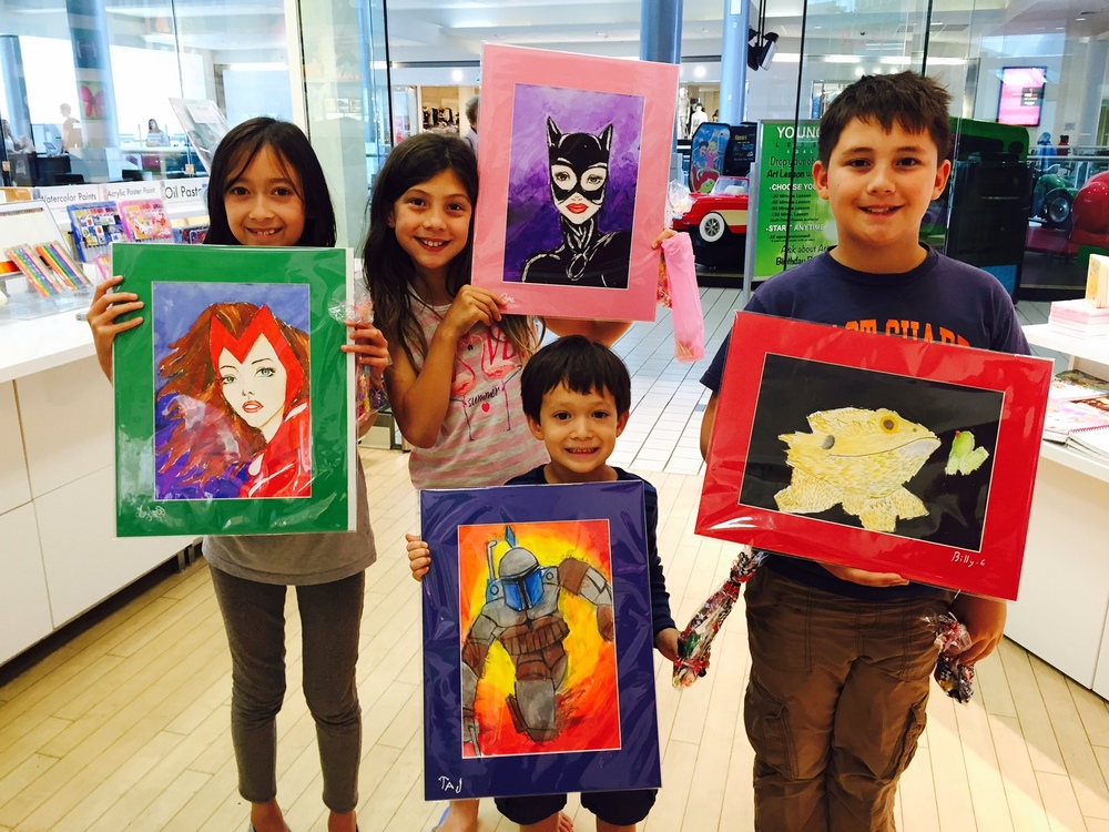 Ginhee Rancourt Young Art Lessons & Gallery  www.youngartusa.co