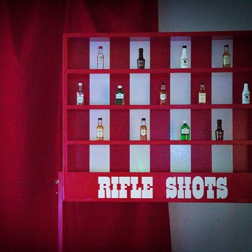 A new Aunty Elsie's drinking game :) #drinkinggames #spirits  #bar #event #party #fairground #games #vodka #bacardi #gin