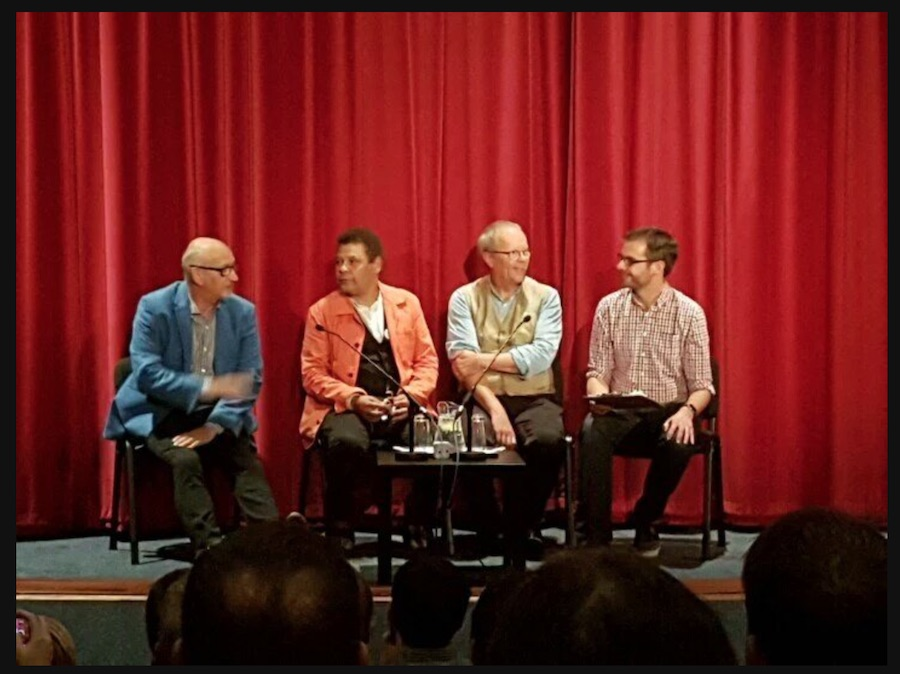 The Q&A panel at the Edinburgh Filmhouse  pic by Chris  @ThisIsChris_x   Thanks