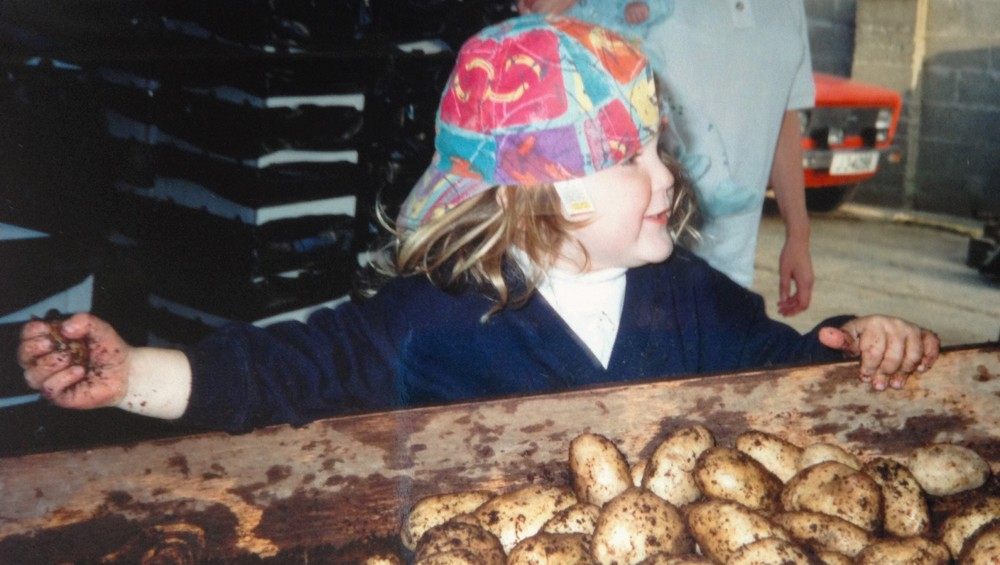 Grace gets mucky with the Jersey Royals - 1992