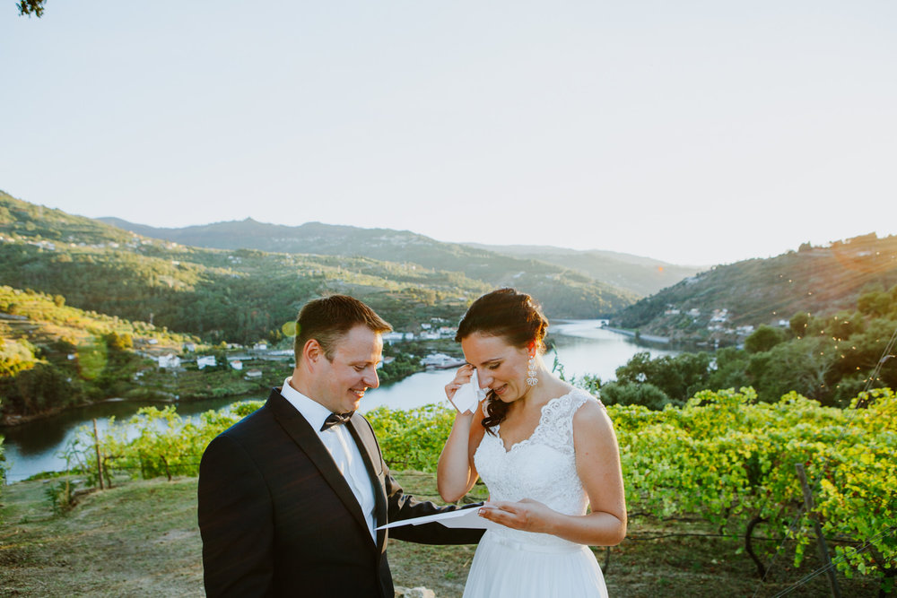 elopement douro portugal