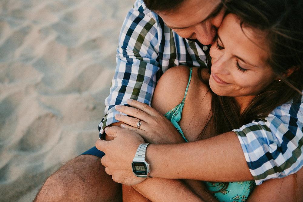 Sess�o de namoro na Praia
