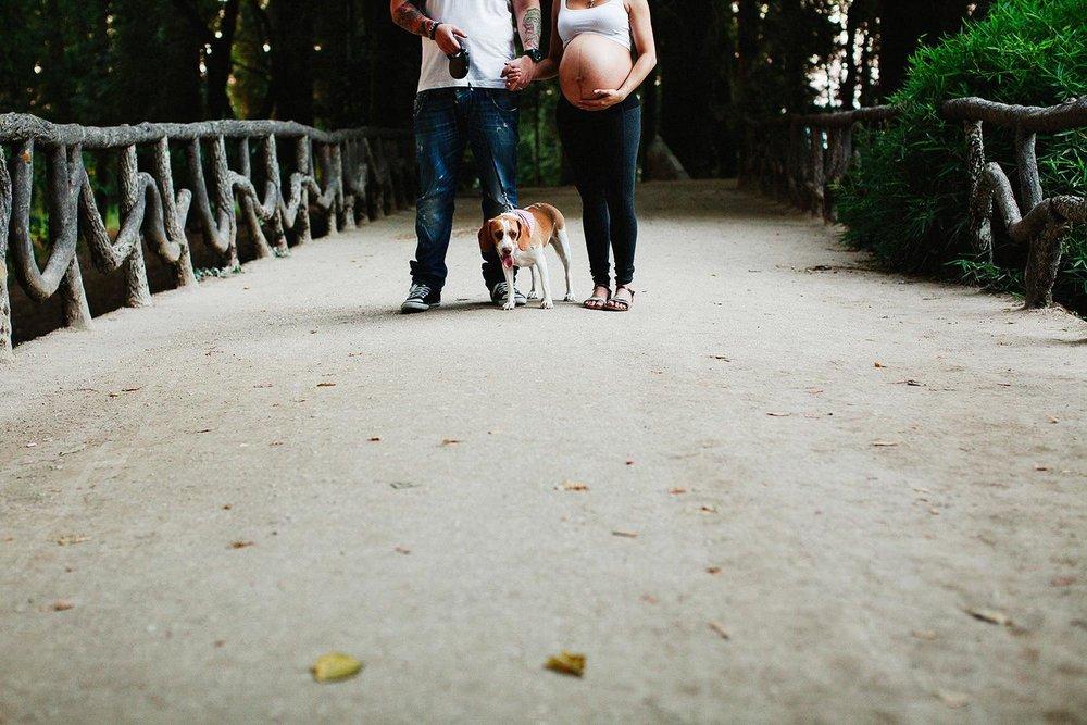 Fotógrafo de grávida em Braga