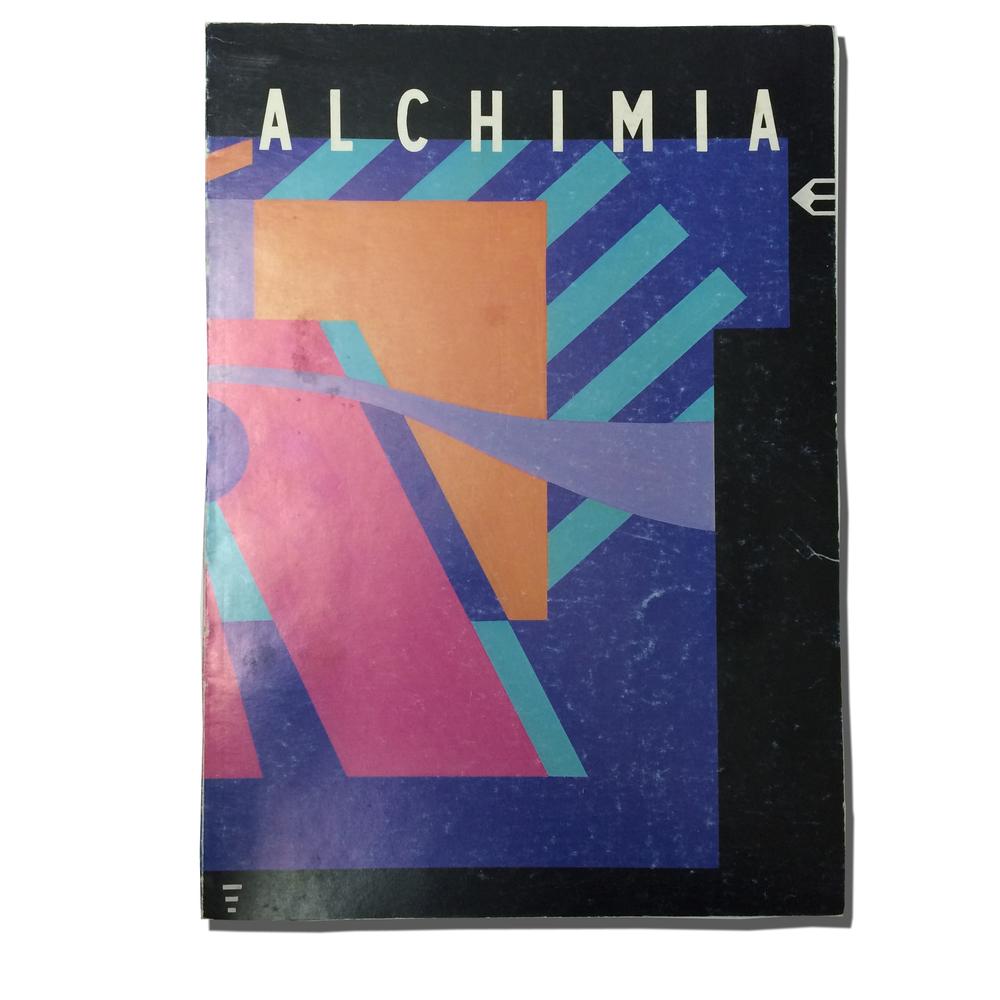 ALCHIMIA Pier Carlo Bontempi, Giorgio Gregori Alchimia, 1985 63 Pages