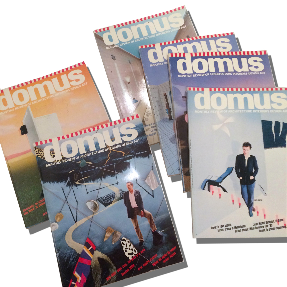 DOMUS Magazine   wide range of issues from 1981-1984