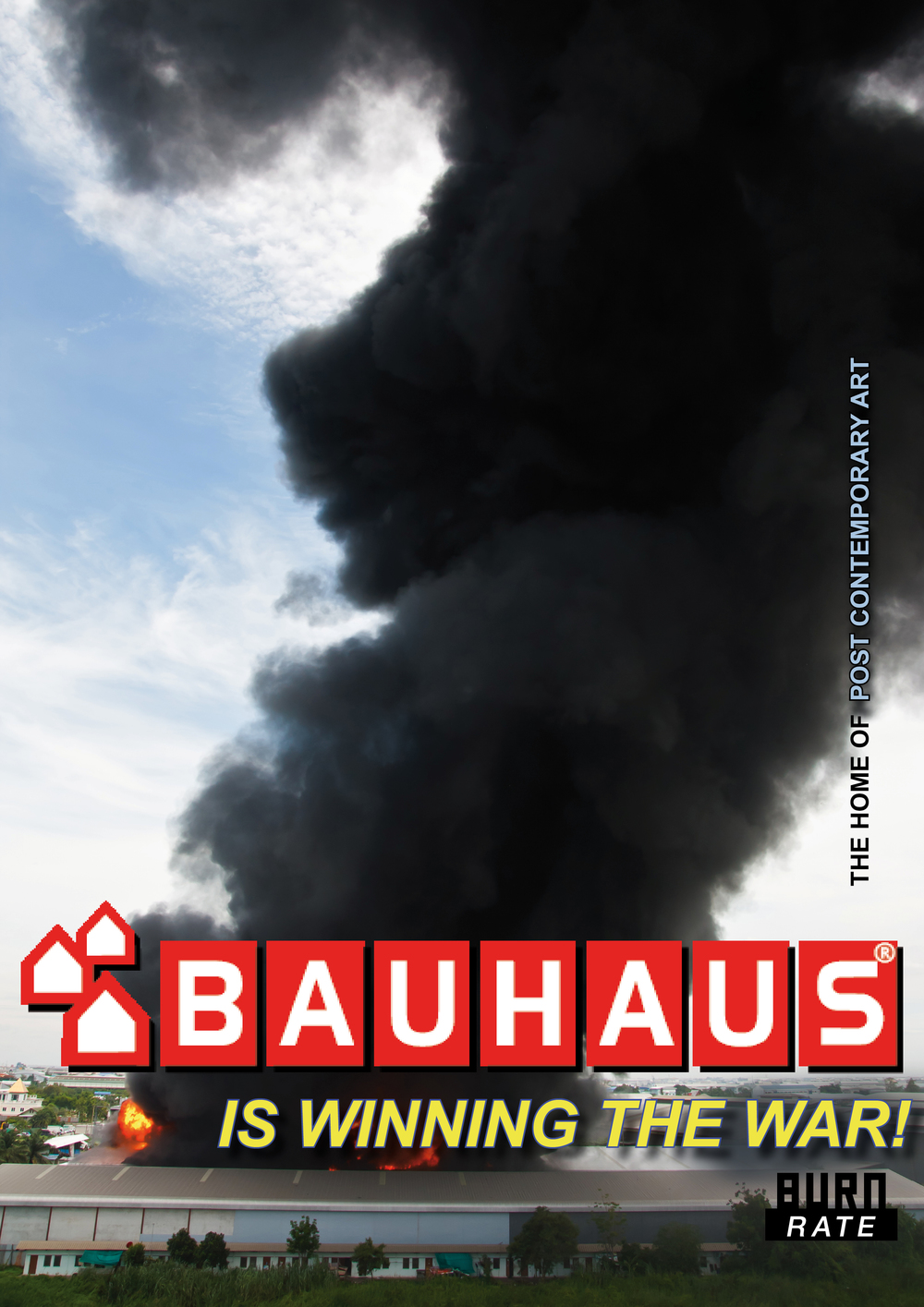 Bauhaus is winning the war 1, Digital Print on Fabric, 2015, Size variabel.jpg