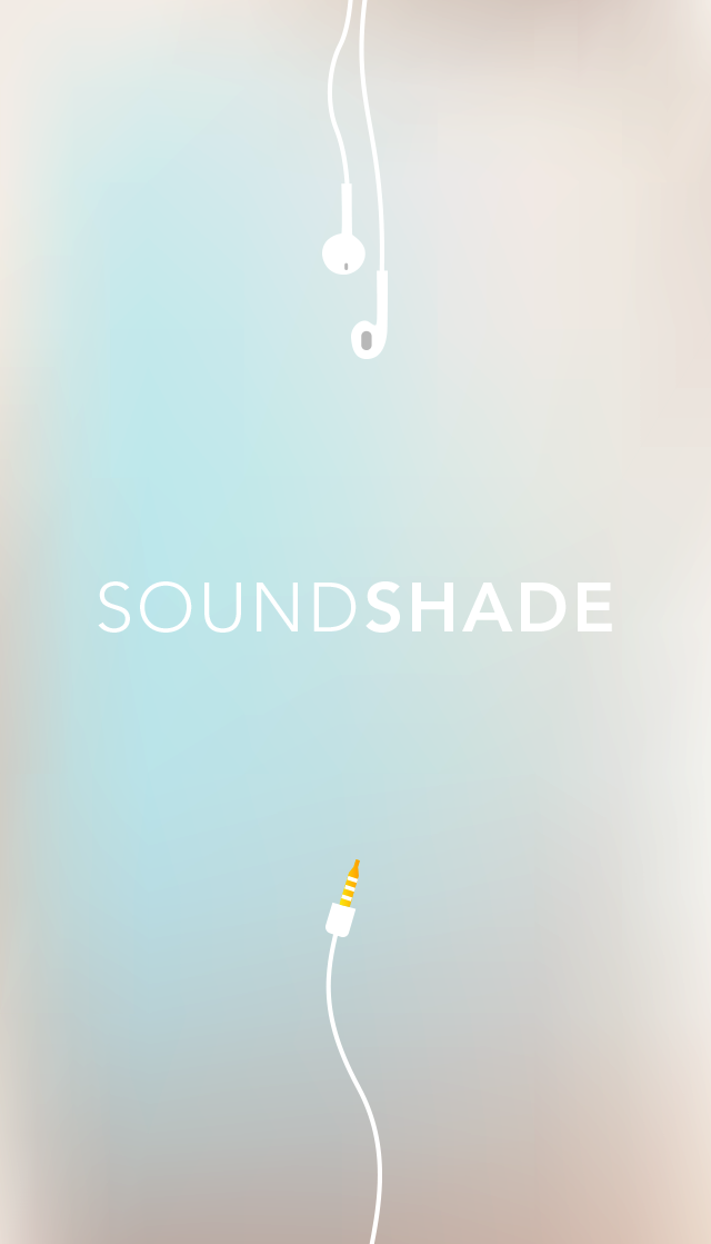SoundShade Launch Screen