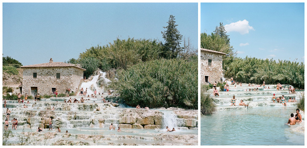 Terme Di Saturina - Tuscany, Italy - Thermal Hot Springs - Tessa Kit Zawadzki Photography