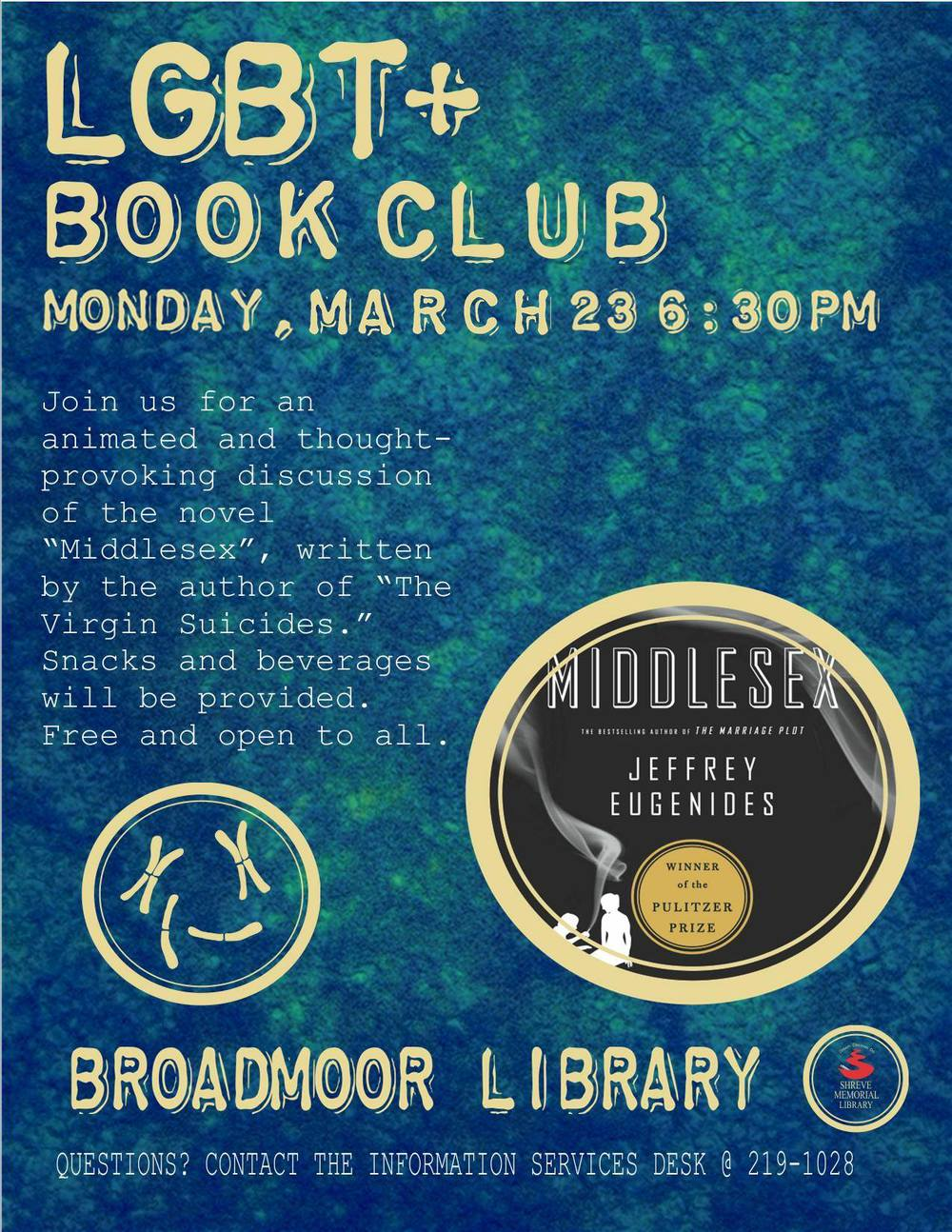 March LGBT+ Book Club