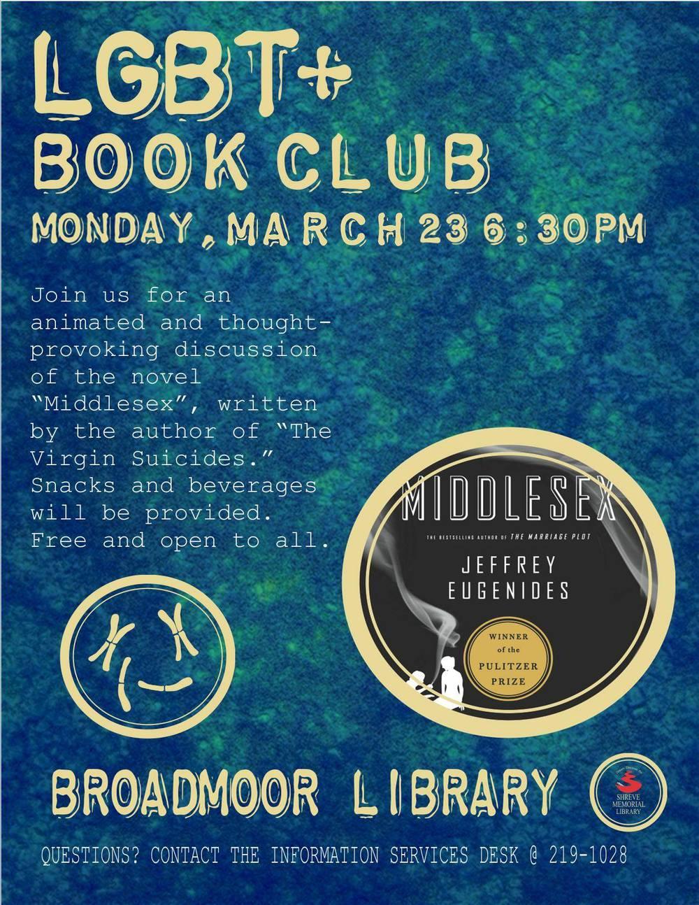 March LGBT+ Book Club