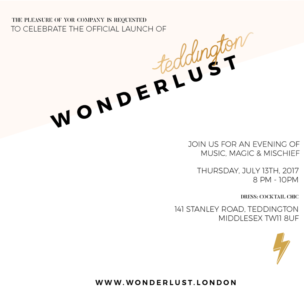 Wonderlust Launch