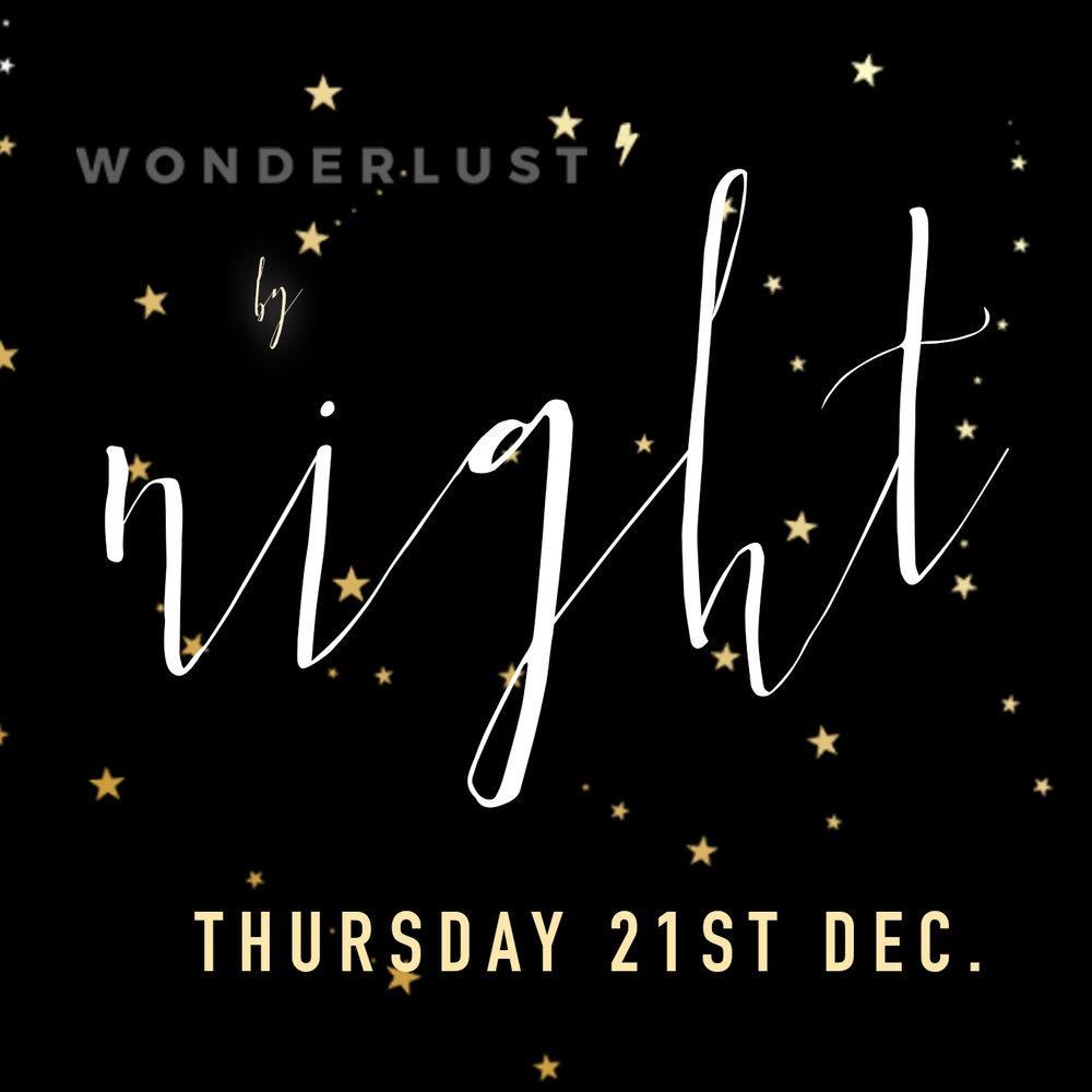 wonderlust by night
