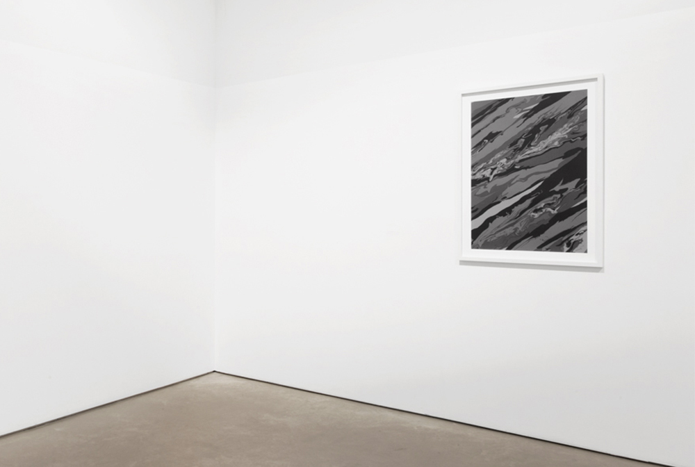 Sediment S1 Installation View, Coa Museum 2015, Silkscreen, On Paper 100 x 70 cm
