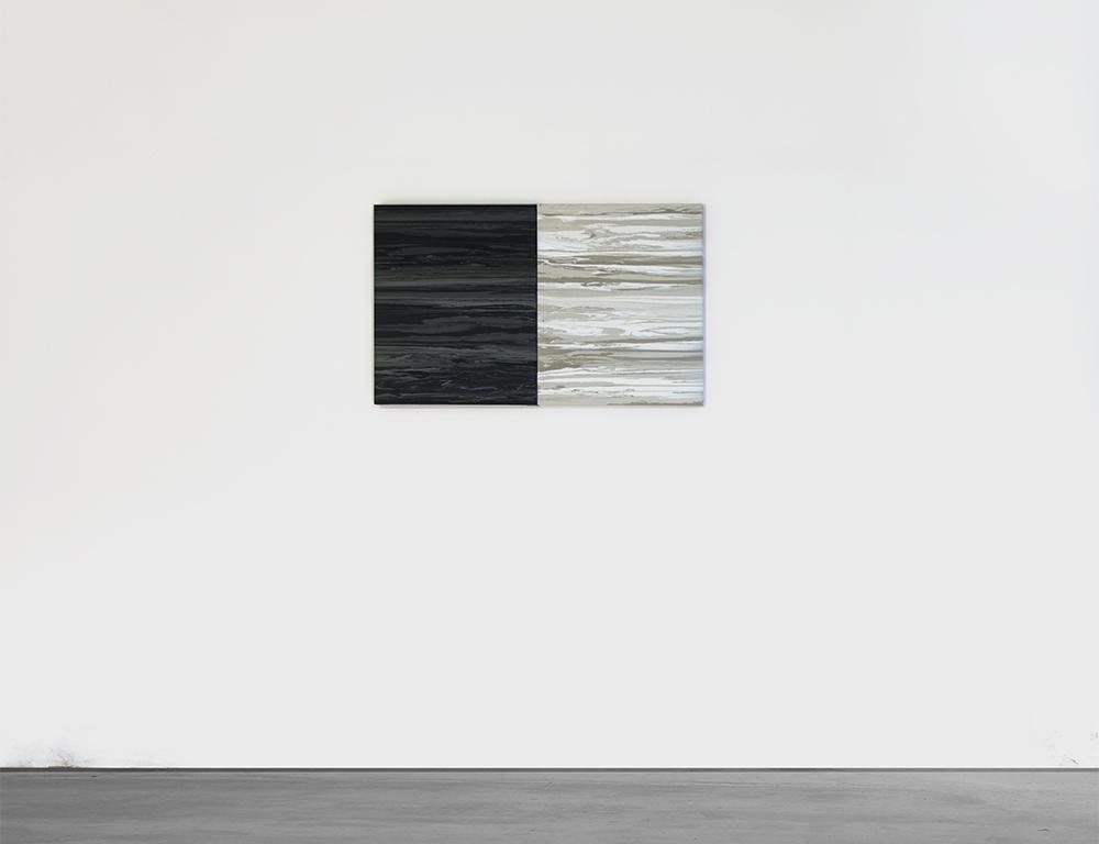 Sediment IV And V 2015,Acrylic On Canvas, 60 x 50 cm