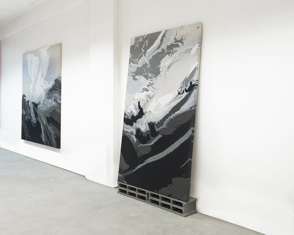 Fold/Fault  2016, Installation View