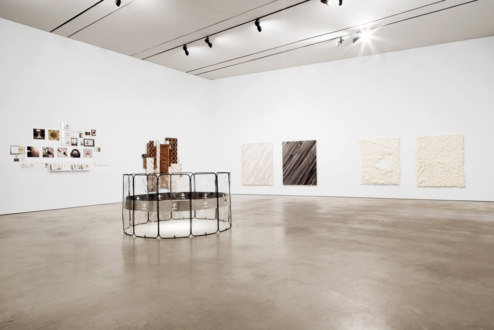 1/81  2015, Installation View At Coa Museum From Left to Right: Susana Anágua/Ana João Romana, Alexandre Farto (Vhils), Paulo Arraiano, Ricardo Passaporte