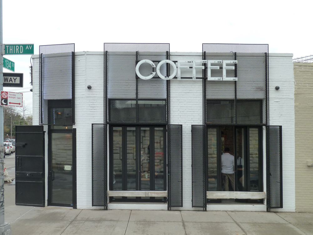Filtered coffee shop