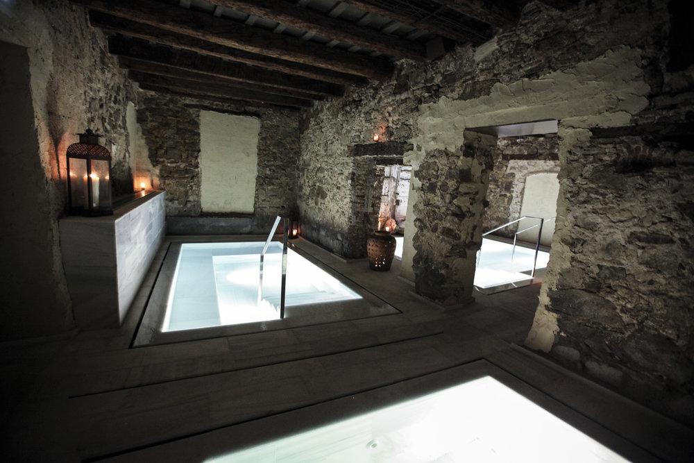 Interior baths