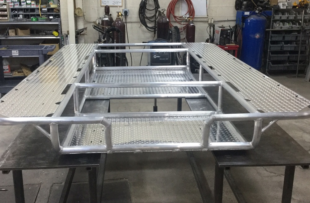 custom cataraft frame