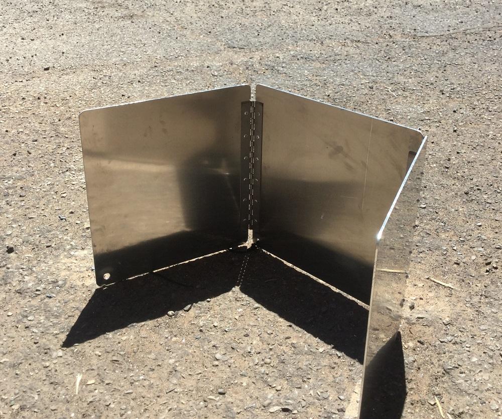 windscreen for blaster stove