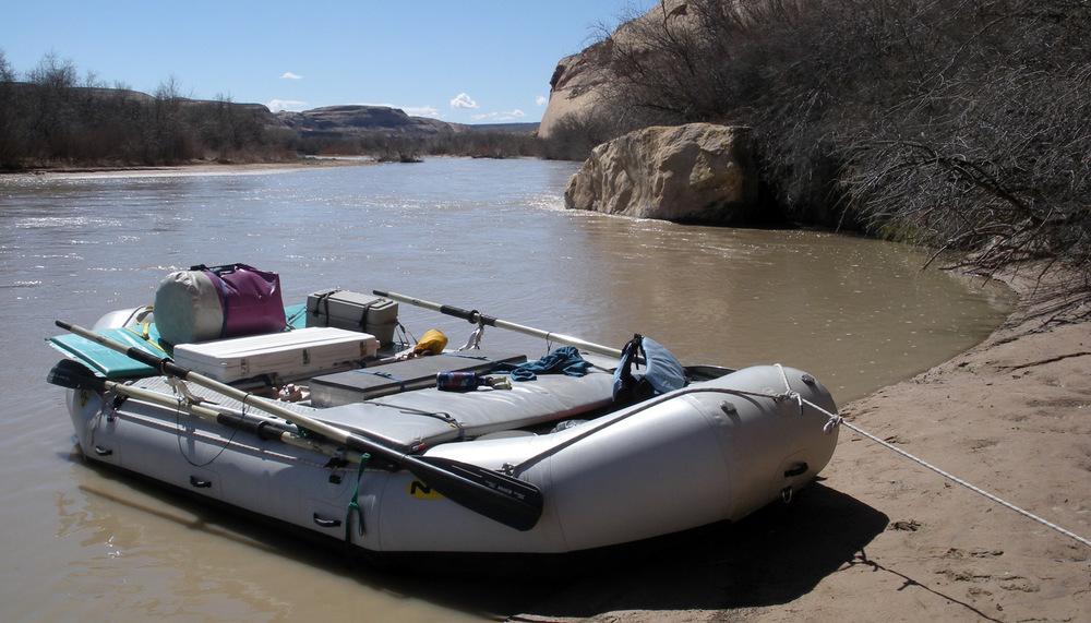 4 bay custom raft frame