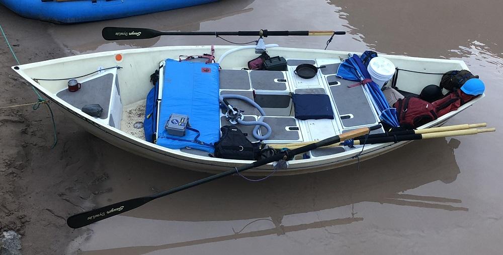 decked hog island boat