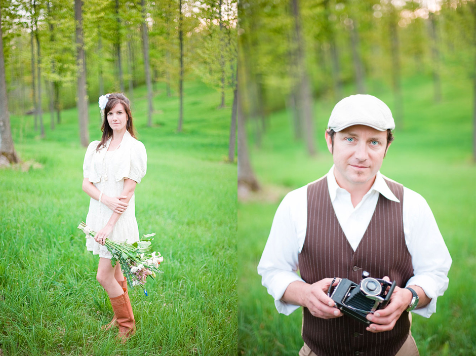 Stylized Engagement Session in Traverse City, MI