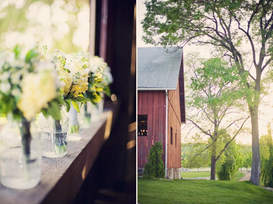 Barn Wedding in Cedar, MI