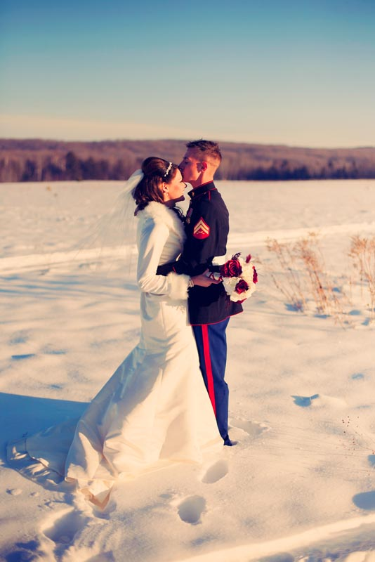 Winter Wedding, Northern Michigan Wedding Photos