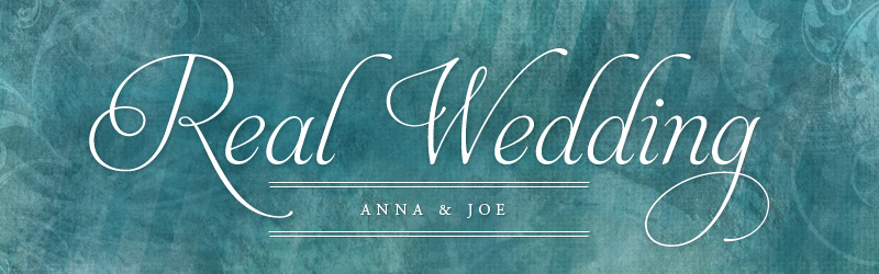 Anna and Joe Real Weddings Banner SBW