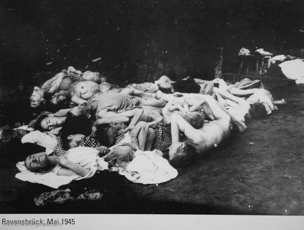 Libération du camp de Ravensbrück, mai 1945