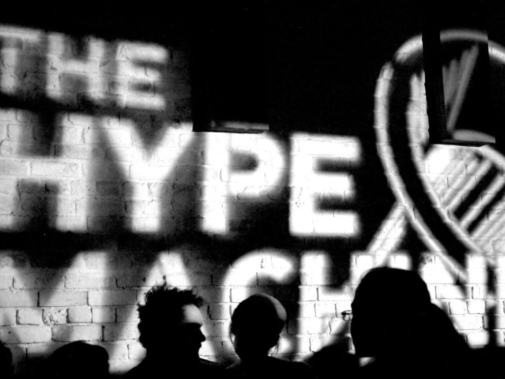 The Hype Machine  von Gerald Rich  (Flickr/CC)