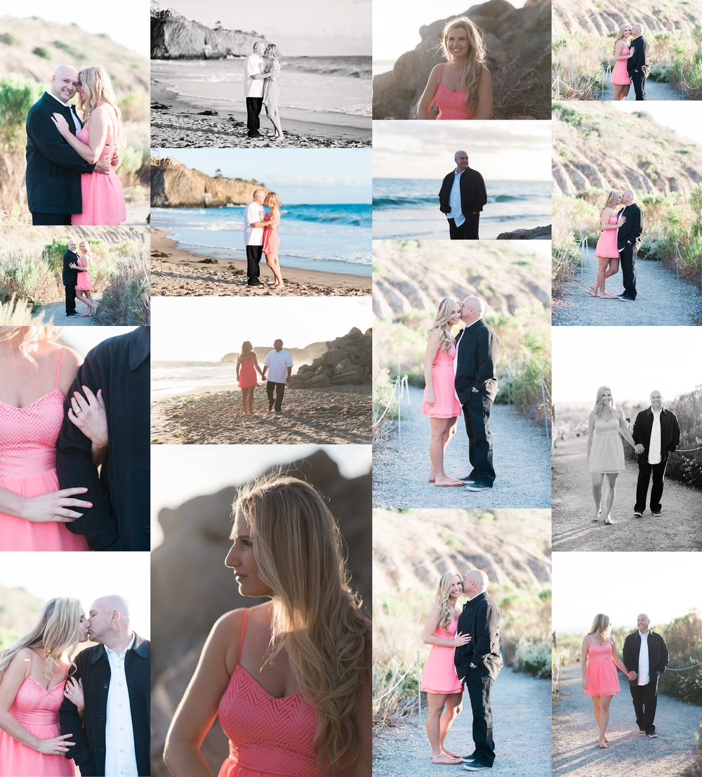 Crystal Cove State Beach Engagement | Melissa + Jason | Orange Country Wedding Photographer  | Devorah Roldan Wedding Photography