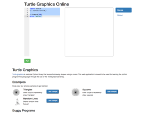 Actua's Turtle Graphics