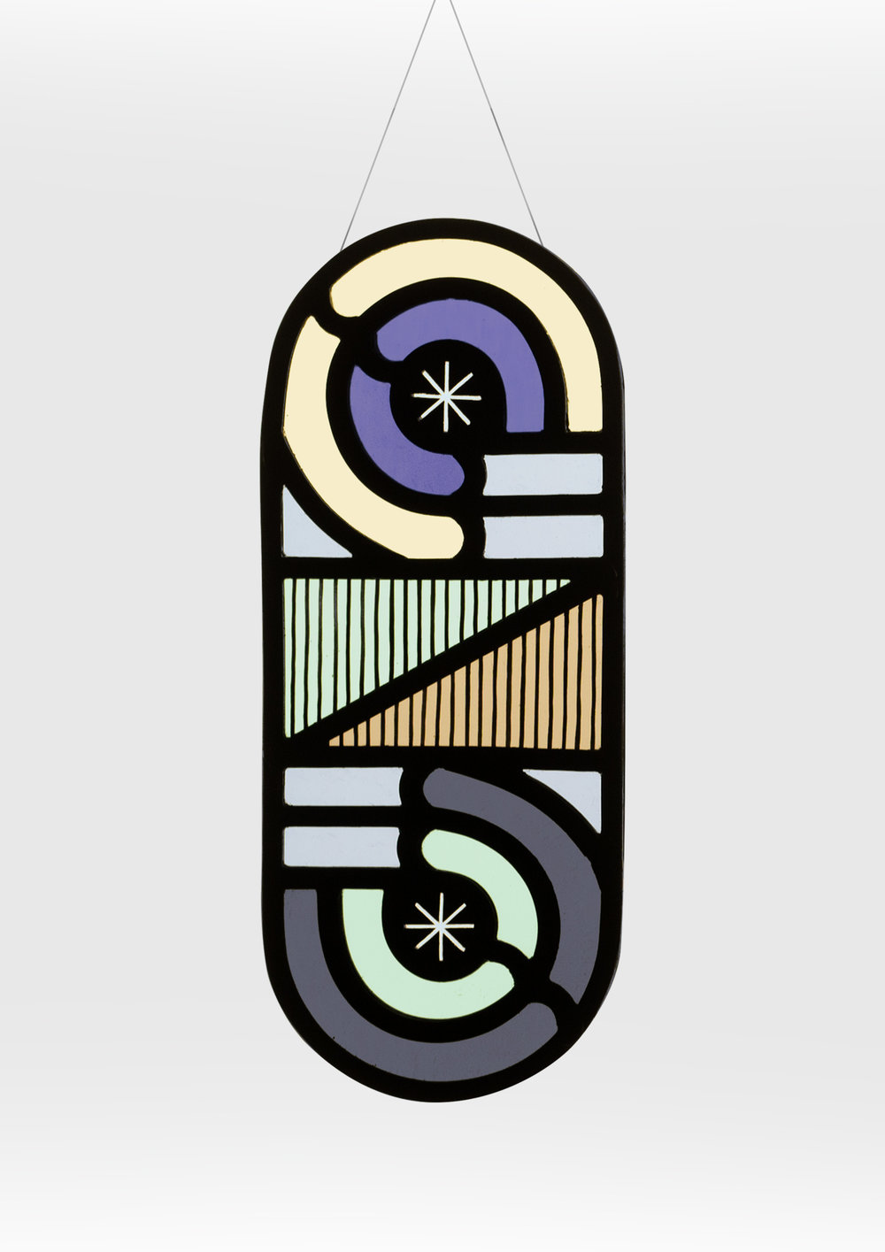 FeistForest // Flora Jamieson X Vicki Turner // Loop D Loop Stained Glass