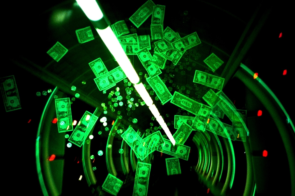 """ Money Tunnel "" by  Cameron Russell  is licensed under  CC BY 2.0 ."