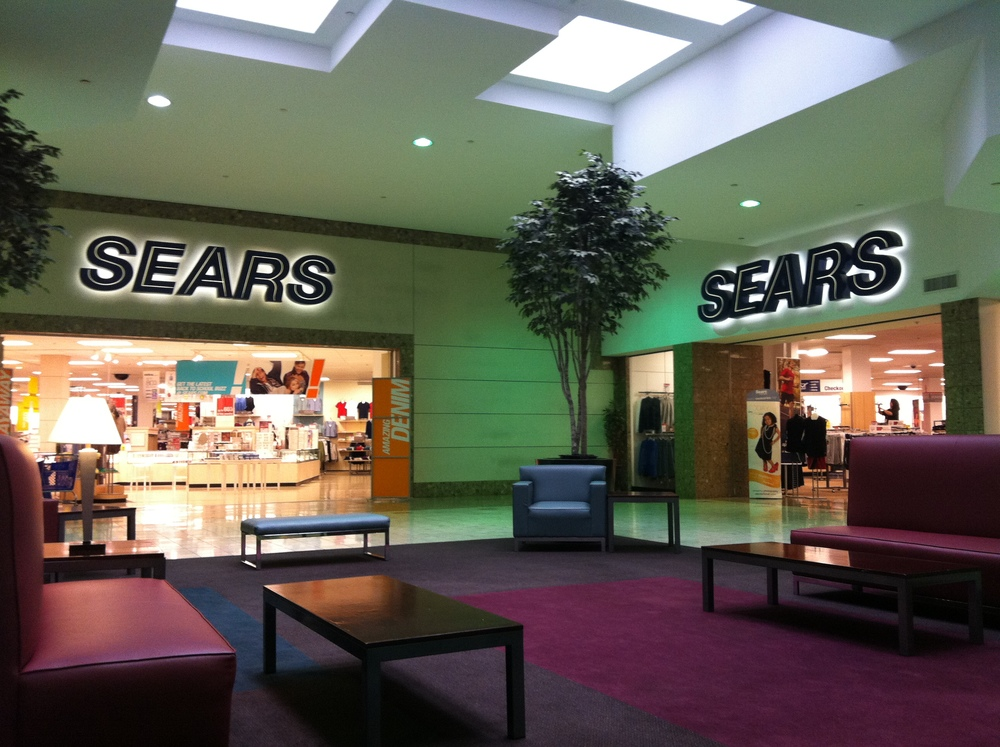 """ Sears - Town Mall of Westminster "" BY  Mike Kalasnik  IS licensed under  CC BY-SA 2.0 ."