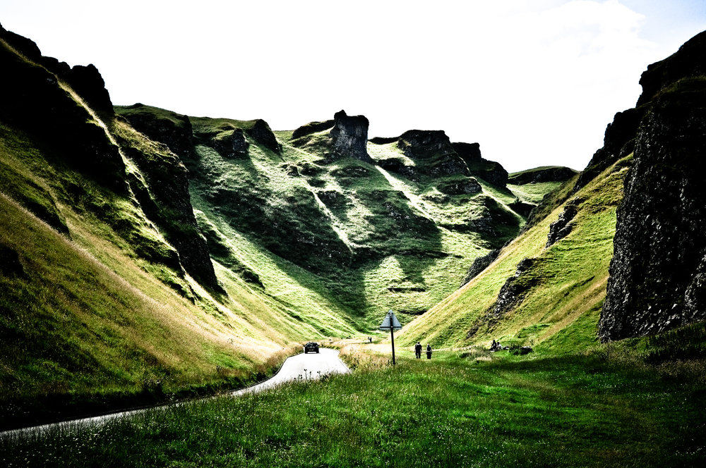 """"""" Winnats Pass """" by  John Clift  is licensed under  CC BY 2.0 ."""