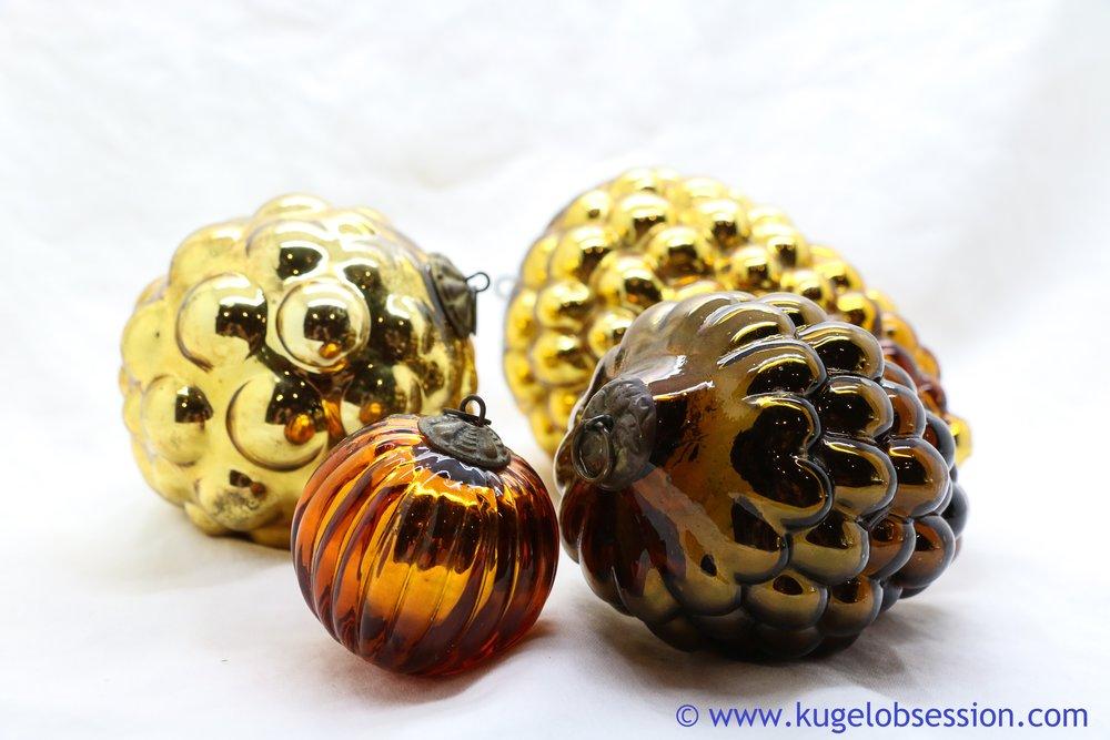 Gold/Copper Kugels for Sale