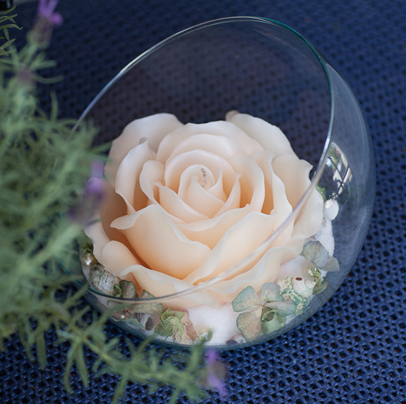 Dekorierte Kerzen