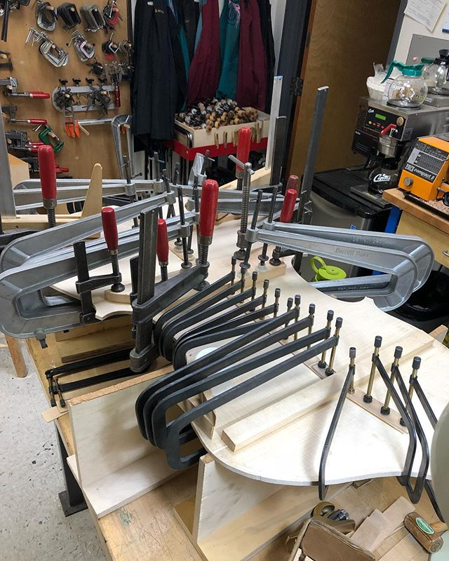 "This is that point where I think ""I need to buy more clamps!"""