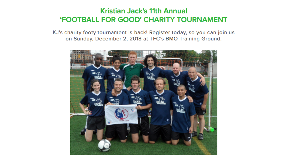 December 2nd - KJ CHARITY TOURNAMENT (TORONTO)CLICK ON THE IMAGE FOR DETAILS