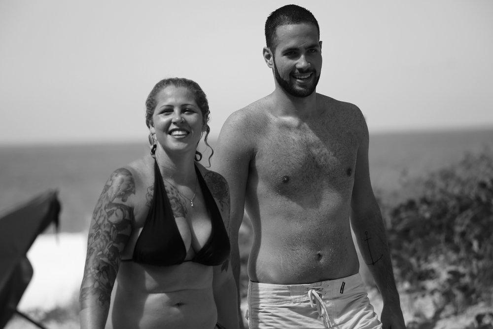 Alice e David são provas vivas da luta pela saúde. Juntos, eles perderam 70 kilos.